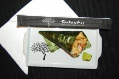 Temaki Ebiten ( camarão empanado )