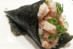Temaki Ebi ( camarão cozido )